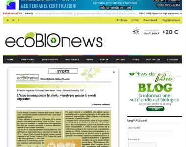 Eco Bio News