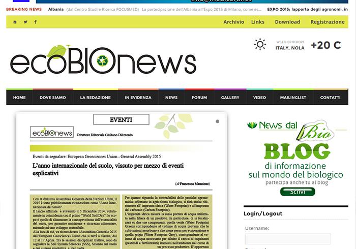 ecobionews