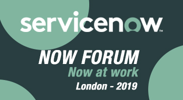 ServiceNow nowatwork london